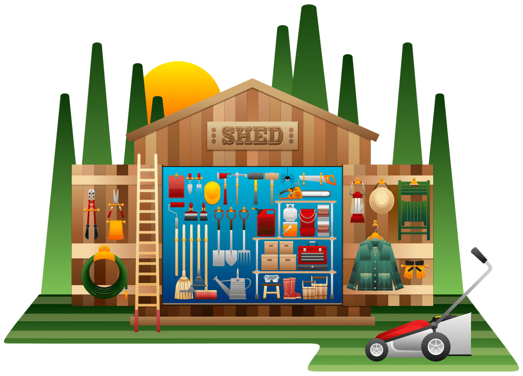 Organize Your Shed With These 5 Creative Ways